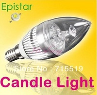 retail selling E14 E27 6pcs a  lot 6W LED Candle Light / Lamp , Fire Typ, warm /cold white 6w  LED Bulb, promotion low price