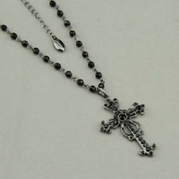 Fashion cross pendant necklace fashion necklace fashion jewelry nickel free Free shipping