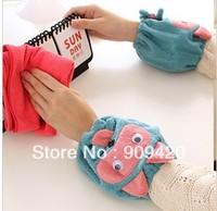 Lazy corner 16 new winter han cute plush animal female short sleeve set of antifouling sleeve cuff 35682