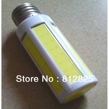 5PC/Lot 220V YM45 Corn Bulb COB led E27 7W 700 LM 7*cob LED Warm White/White led bulb For living room + Free Shipping