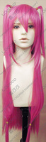 Clothing violin pink meters high temperature wire cos wig