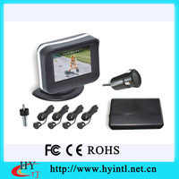 High quality  2.4inch lcd display video parking sensor hy9241