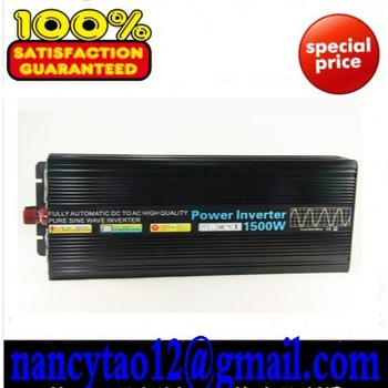 Hot Sell. High Efficiency 1500W DC12V/24V/48V Pure Sine Wave Inverter, Solar Power Inverter