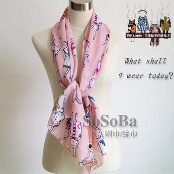 Free shipping fi-fi brand tassels pink long shawl scarf wrap DW0011