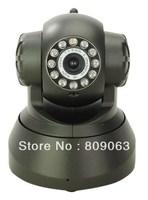 IP 607W 10 IR LED for Night vision Wireless/ Wired Camera with WIFI/MJPEG/CMOS Sensor-Black