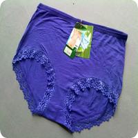 Free Shipping 5pcs/lot Woman High Waist Underwear Lady's Panties XXL Size