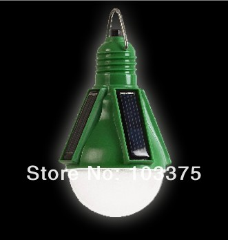Solar LED Bulb Camping Lantern High Bright Auto Light Induction for household, garden decoration Free Shipping(China (Mainland))