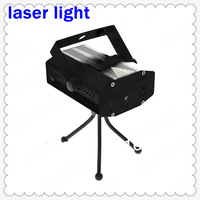 Mini Laser Flash Light Party Stage DJ Lamp With Tripod Aluminium Material Green Red light DA0080