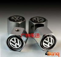 Car Logo High quality Copper Anti theft Tire Air Valve Stems Caps for All years car (Min.order:1 set)