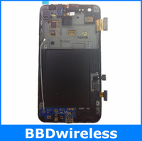 Free shipping Touch Screen LCD Display with Frame Aseembly For Galaxy S2 i9100