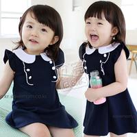 Free Shipping,100% Cottom, Girls Black Dress,no sleeve diress,  butterfly dress qz-0342 (CC019NQZ0342)