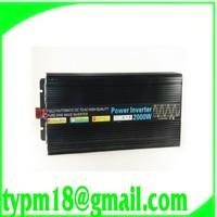 2000W pure sine wave power inverter DC 12V to AC 220V 50HzFree Shipping