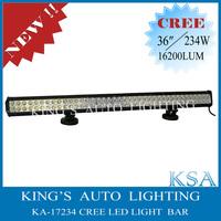 36'' 234W Cree 16200 LM Offroad Led Driving Lamp SUV ATV 4x4 Led Work Light Bar
