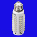 Free shipping 5PCS/LOT  LED bulb 7W E27 220V Cold White light LED lamp with 108 led 360 degree Spot led light