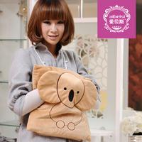 Hand warmer charge plush pillow cartoon electricity warm bag cushion electric heater 2012
