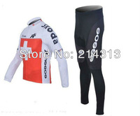 By Low Price  ASSOS  Team Winter Long Jersey and Pants Thermal Bike Wear