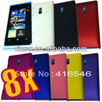 10pcs/lot free shipping Back Cover Hard Case Cover for Nokia Lumia 800