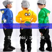 Kids suits 2pcs set sport suit Casual clothes 2013 Spring New arrival 100% cotton Baby boy Children clothing