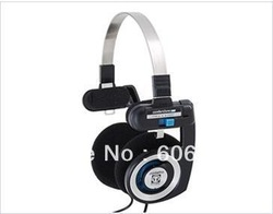 Free shipping cheap headphones,3.5mm Jack On-Ear Stereo Headphone for MP3/ MP4/ PC headset earphone(China (Mainland))
