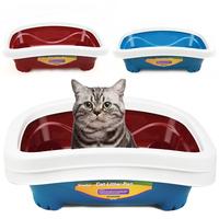 Pet cat supplies litter box luxury cat toilet