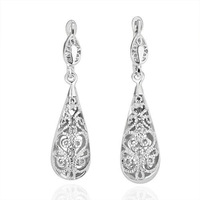 BM277  wholesale luxury 18K Gold plated Sparkling Crystal earring fashion jewelry