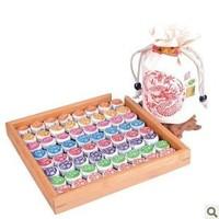 Free Shipping 9 Flavour 81pcs Puer Tea,Pu'er,Slimming Health Tea,Yunnan Puer Chinese Tea 81pc=1bag=400g T-001