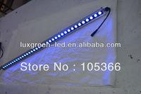 Guranteed 100% free shipping 1.2m 24vDC 36x1w IP65 LED RGB Ultra-thin wall washer