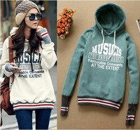 Celeb Girls Cool Thumb Design Womens Hoodie Letter Casual Hoodies Top New Tops