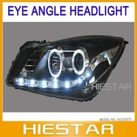 Head lamp headlight For Buick new Regal with Led auto lamp car Angel eyes light