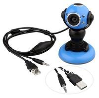 Free shipping 30 Mega USB LED Webcam Mic For XP Vista Win7 SKYPE MSN