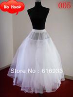 free shipping cheap soft tulle undergarment no hoop wedding petticoat wedding accessory WA-003