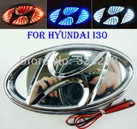 Free shipping, 3D rear led logo light for Hyundai I30, Hot white color, 3D effect, LED light, Car Sticker, car badge