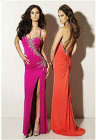Modern Hot 2013 Taffeta beads Prom evening dresses