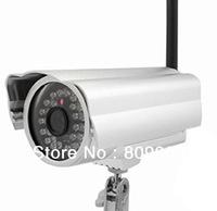 Sharp 1/4 CMOS 24 IR LED Day DCL G8702R(W) Waterproof and Night Vision Wireless/Wired IP Camera