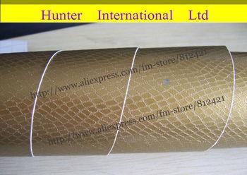 New Arrival Carbon Fiber Design Snake Skin Vinyl Car Film Wrap Sheet / Size:1.52 x 30m/ Free Shipping