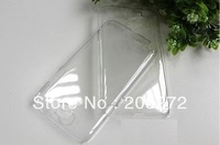 Wholesales Hard Plastic clear crystal transparent back cover case for Samsung Note 2 7100 Free Shipping 20pcs/lot