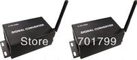 2.4Ghz wireless dmx convertor, one pair, dmx sender and receiver