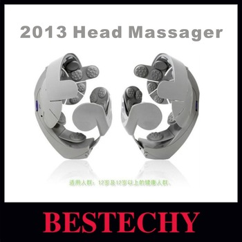 Free shipping 2013 NEW Humanized Electric Head Massager Healthcare Brain Massage Relax Easy Acupuncture Points