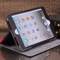 free shipping Book Vintage Mini Brown Stand  Leather Case for iPad mini pc