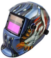 LI battry and Solar auto darkening welding helmet/mask for the MIG MAG TIG MMA welding machine and CUT plasma cutter