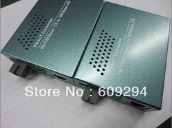 WDM Media Converters 10/100M Single Mode Simplex Fiber Cable fiber equipment 2pcs/lot(China (Mainland))