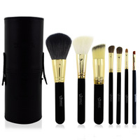 Authentic Emily Professional 7PCS Makeup Brushes Cosmetic Portable Pen Holder makeup Brush Tube Brush