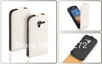 Flip Leather Case cover For Samsung Galaxy Ace 2 i8160 Free shipping