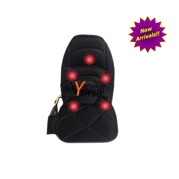 US & European Hot Sale Masssage With Waist Far-Infrared Heating Air Bag Car Massage Cushion On Car Massager for Chair and Sofa(China (Mainland))