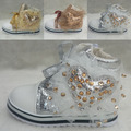free shipping 2013 autumn heart rhinestones laciness platform shoes high teethteats dsmv girls lacing boots