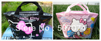 2PC NEW Beautiful gift Hello kitty Handbag Girls #JK