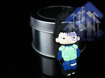Free Shipping TURE100% High Quality cute japan boy  2gb.4gb .8gb.16gb 32gb USB FLASH disk 2.0 with out retail box