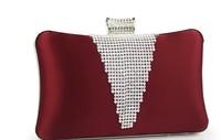 Shaping bag fashion diamond evening bag women's handbag clutch bag