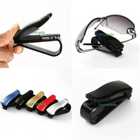 New Car Glasses Sunglasses Holder Visor Card Clip two Colors Model with glasses clip auto paper folder folder car glasses