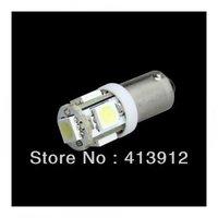 Free EMS/DHL shipping 300pcs  DC 12V Car Indicators Light BA9S 5 SMD 5050 LED car Interior Bulbs Wedge Lamp